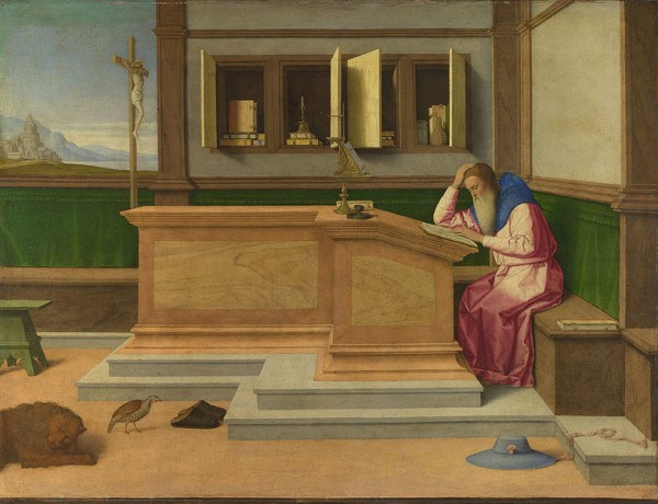 Catena St Jerome in his Study