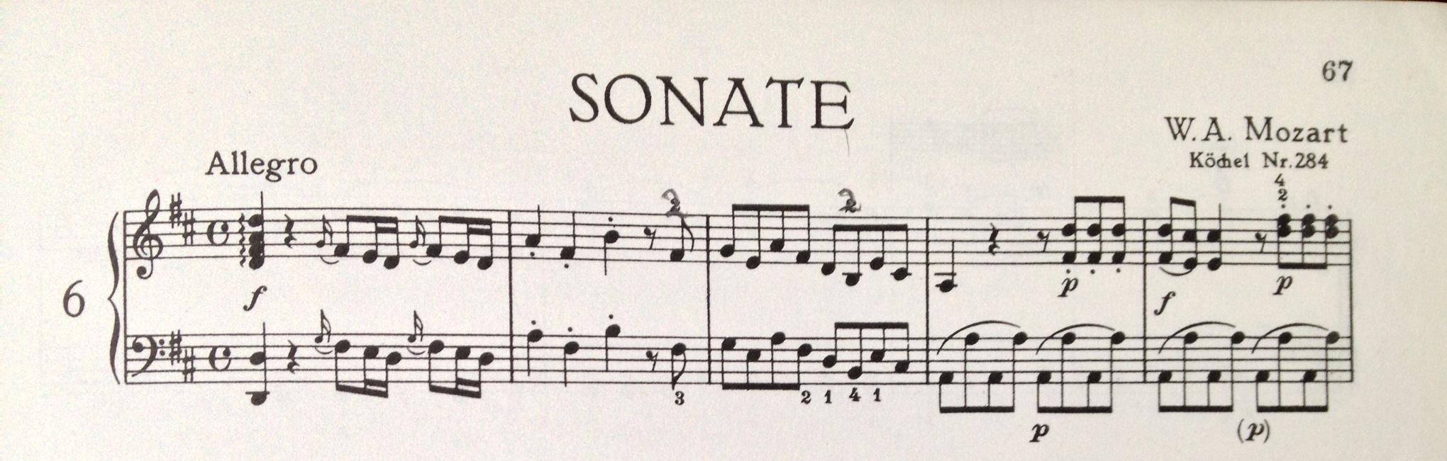 Mozart PS 6